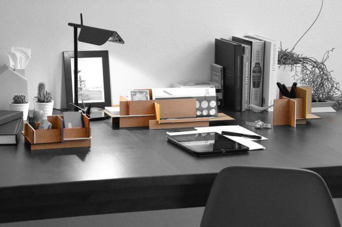 Mwdo rangement pour bureau par jean charles kien - Accessoires de bureau design ...