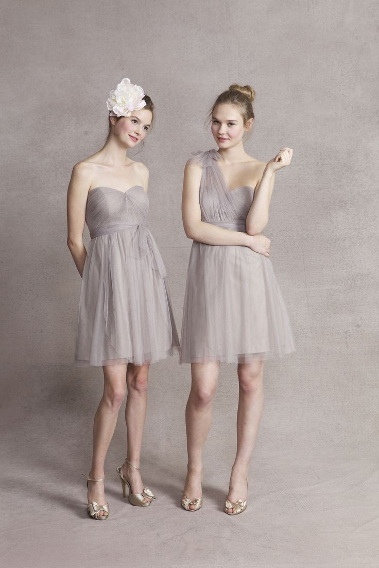 102 best bridesmaids dresses images on pinterest bridesmaids wren dress in mink gray soft tulle by jenny yoo same colordifferent dress convertible bridesmaid ombrellifo Gallery