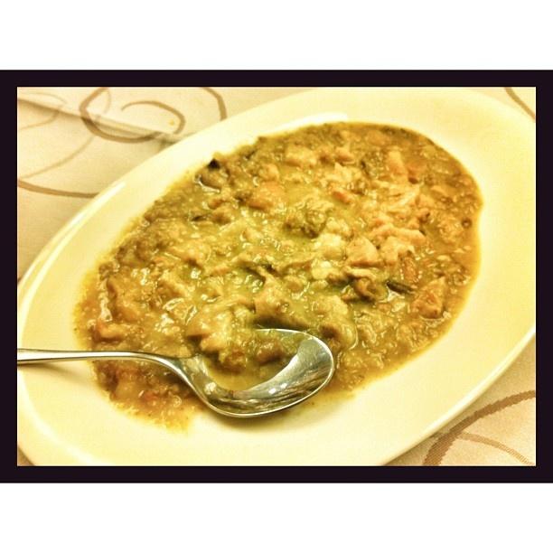 Hubo quien no quiso finalizar la cena sin probar un plato muy especial: oreja con salsa de hongos. Oído cocina. FUENTE: PASEAN2 > Facebook https://www.facebook.com/pages/Pasean2/139571432779012 - Twitter https://twitter.com/pasean2 - Web http://pasean2.com/