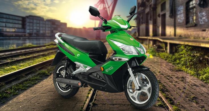 Elektrische scooter: Stoer rijden met emco