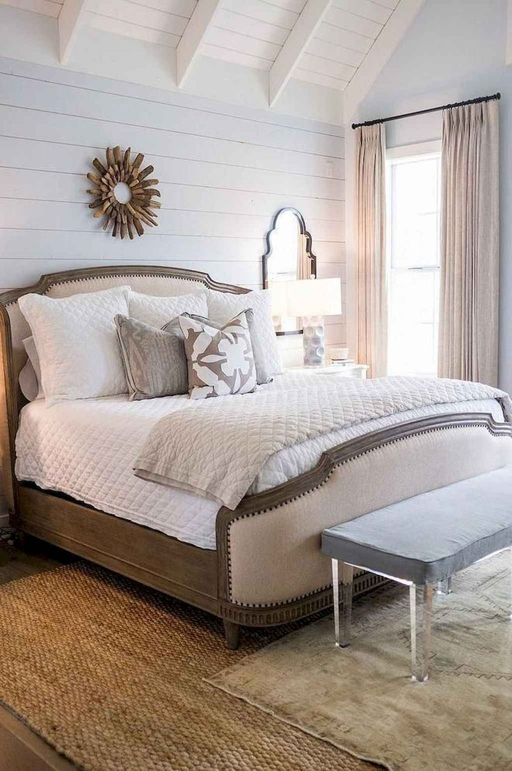 65 Farmhouse Master Bedroom Decorating Ideas