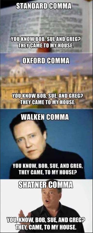 Commas: