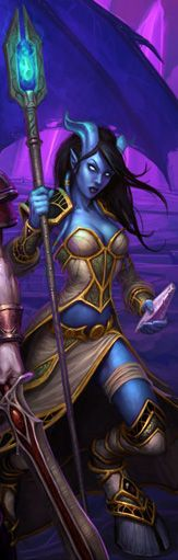 Iridi: Draenei priestess who died destroying the dragon Dargonax and saving Azeroth. #Warcraft