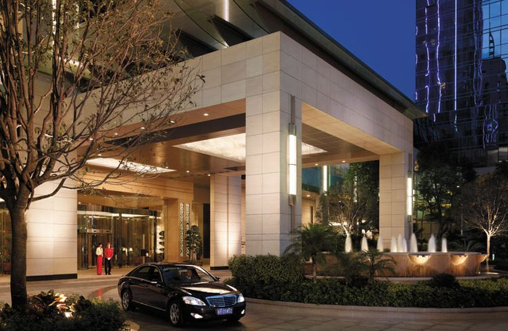 Home Design Gate Ideas: Porte-Cochère Of The Futian Shangri-La Hotel