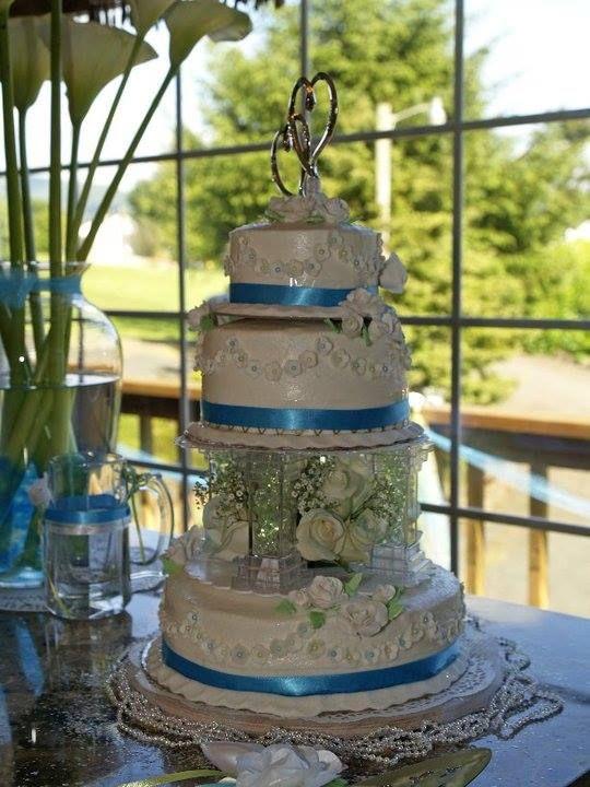Katey and Jason's Wedding Cake
