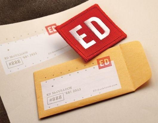 * Ed McCulloch : Photographer // FUNNEL: Photographers, Business Card, Graphic Design, Logo, Designspiration, Funnel, Card Design, Branding