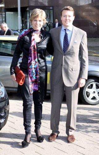 Princesse Petra Laurentien et le prince Constantijn des Pays-Bas