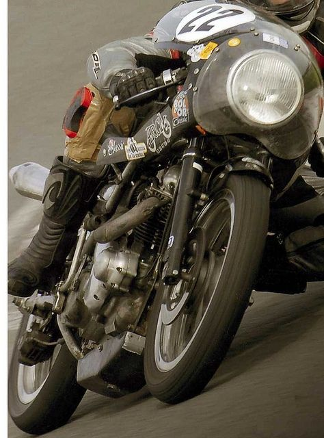 Seeley Norton Commando racer