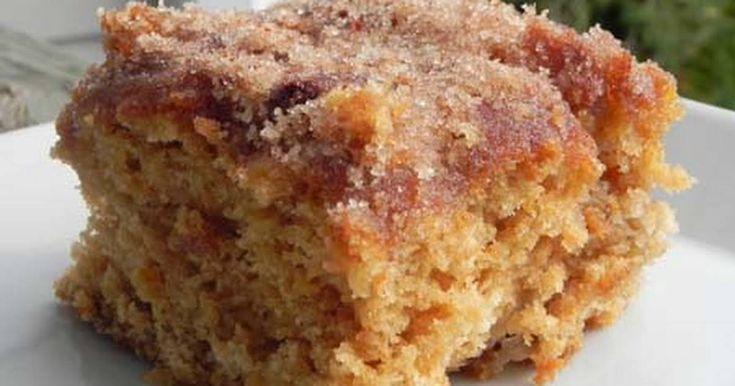 Cinnamon sugar apple cake recipe in 2020 apple cake