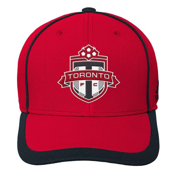 * Youth Toronto FC adidas Red Fan Piping Structured Adjustable Hat, Your Price: $23.99