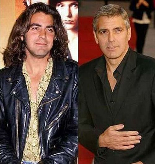 George ClooneyGeorge Clooney, Clooney Celebrities, Celeb Youngerold, Famous People, Long Hair, 25 Celebrities, 22 Photos, Celebrities Gallery, Clooney Photos