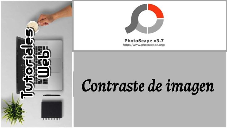 PhotoScape 2017 - Contraste de imagen (español)