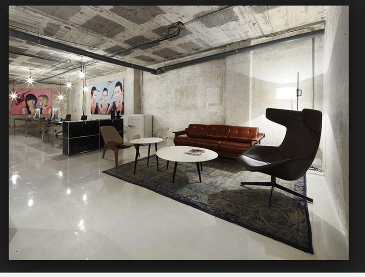 Industrial Office Decor