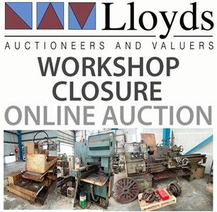 WORKSHOP CLOSURE AUCTION: http://www.lloydsonline.com.au/AuctionLots.aspx?smode=0&aid=5446&pgn=1&pgs=100&gv=True EVERYTHING is up for auction, just name your price!  Inspections THURSDAY from 8am - 30 Fox Road, Acacia Ridge QLD 4110 Auction will begin closing from 12pm.