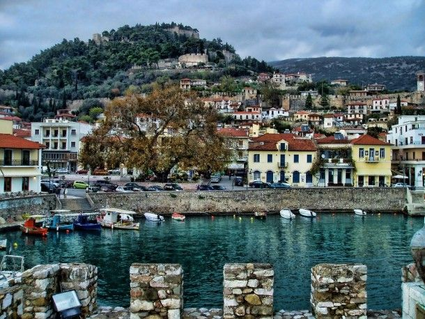 Nafpaktos Greece  #village #nafpaktos #greece