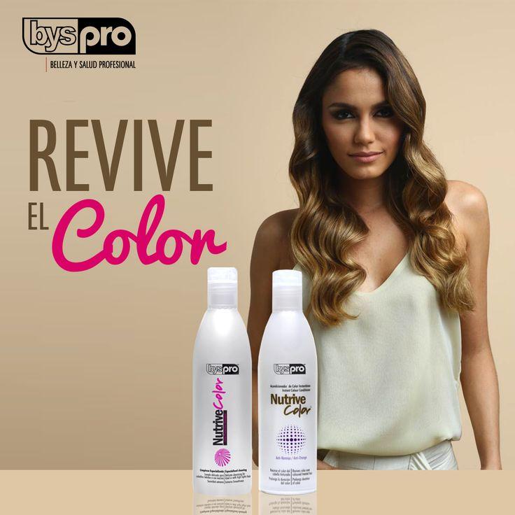 Prolonga la vida del color protegiendo el cabello tinturado desde el lavado.