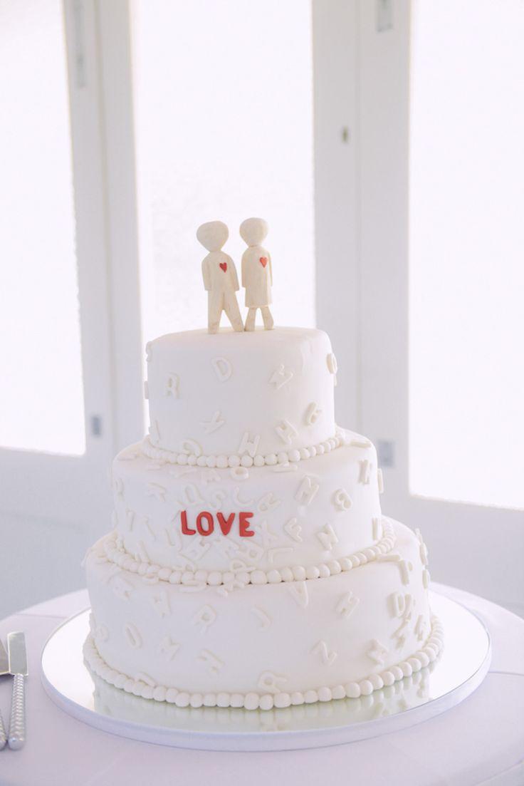 gorgeous wedding cake !! LOVE !
