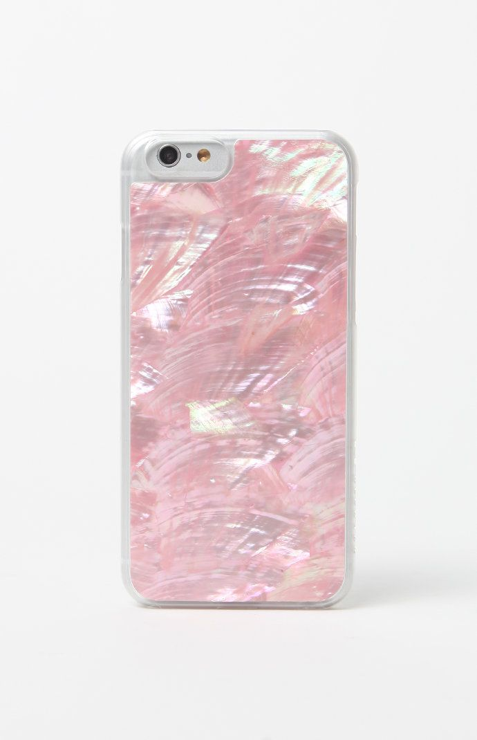 Rose Gold Abalone iPhone 6/6s Case