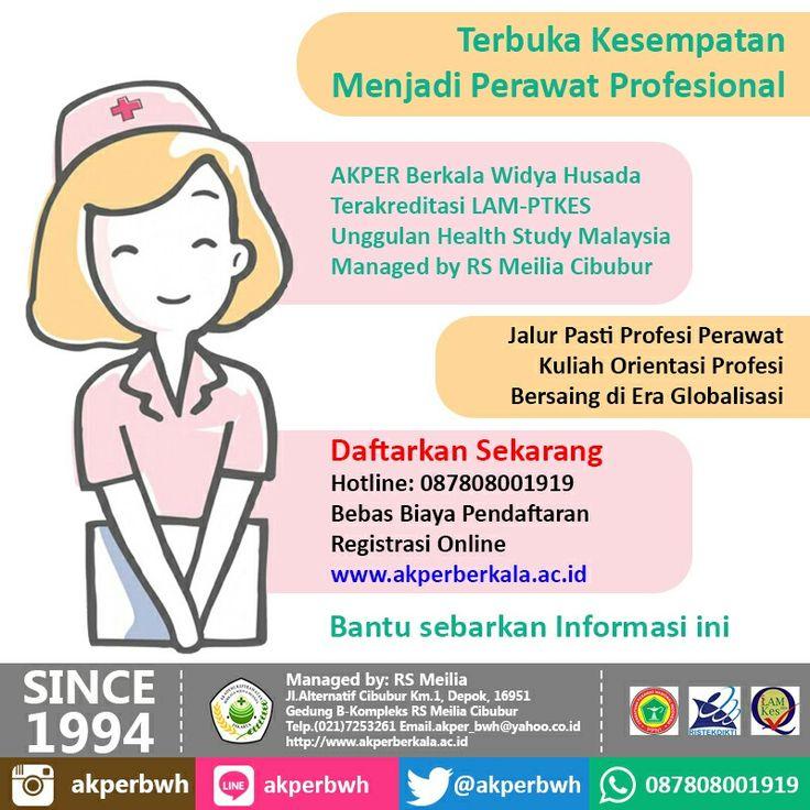 Kesempatan Terbuka bagi Anda untuk menjadi PERAWAT HEBAT • • #akper #akademi #keperawatan #akperberkala #cibubur #depok #cileungsi #bekasi #bogor #tangerang #jakarta #indonesia #mahasiswa #kampus #kuliah