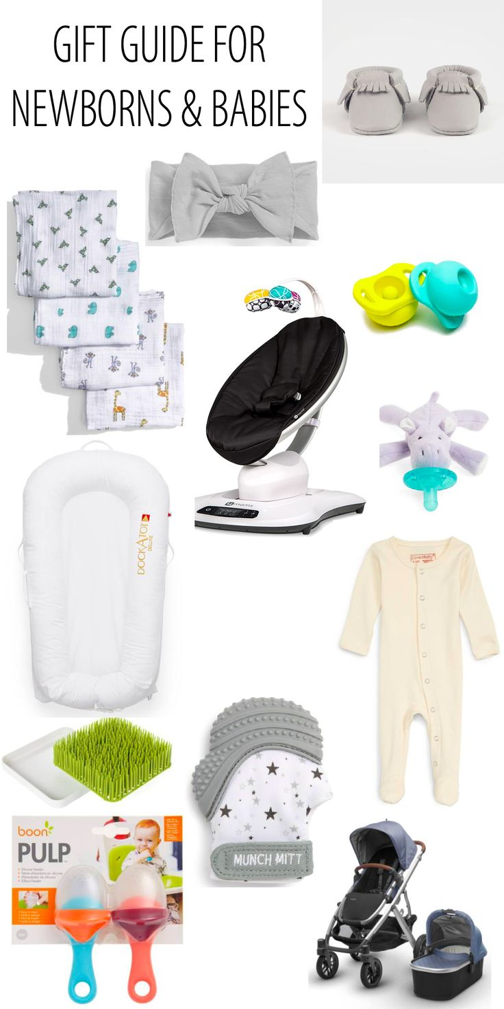 Newborn & baby Gift Ideas | Holiday Gift Guides | Dani Marie