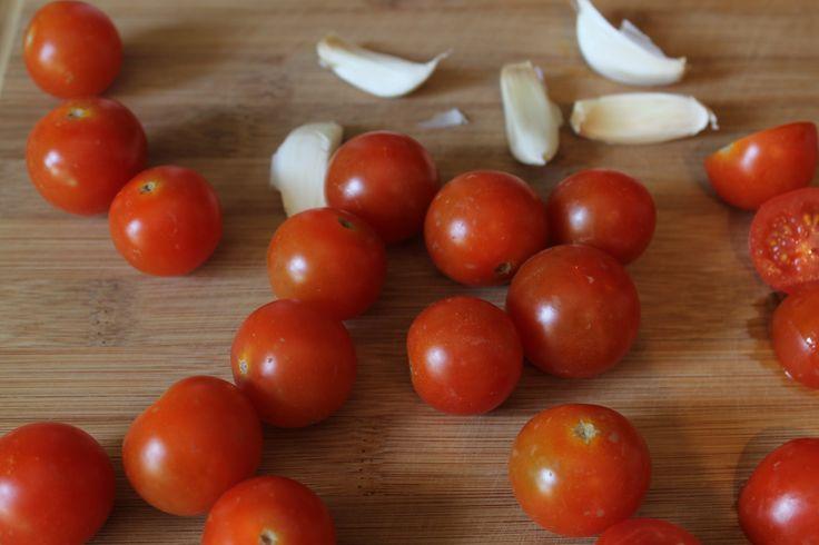 Quick & Easy Cherry Tomato Sauce