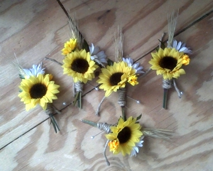 Bridal Party Accessories Grooms Boutonniere Groomsmen