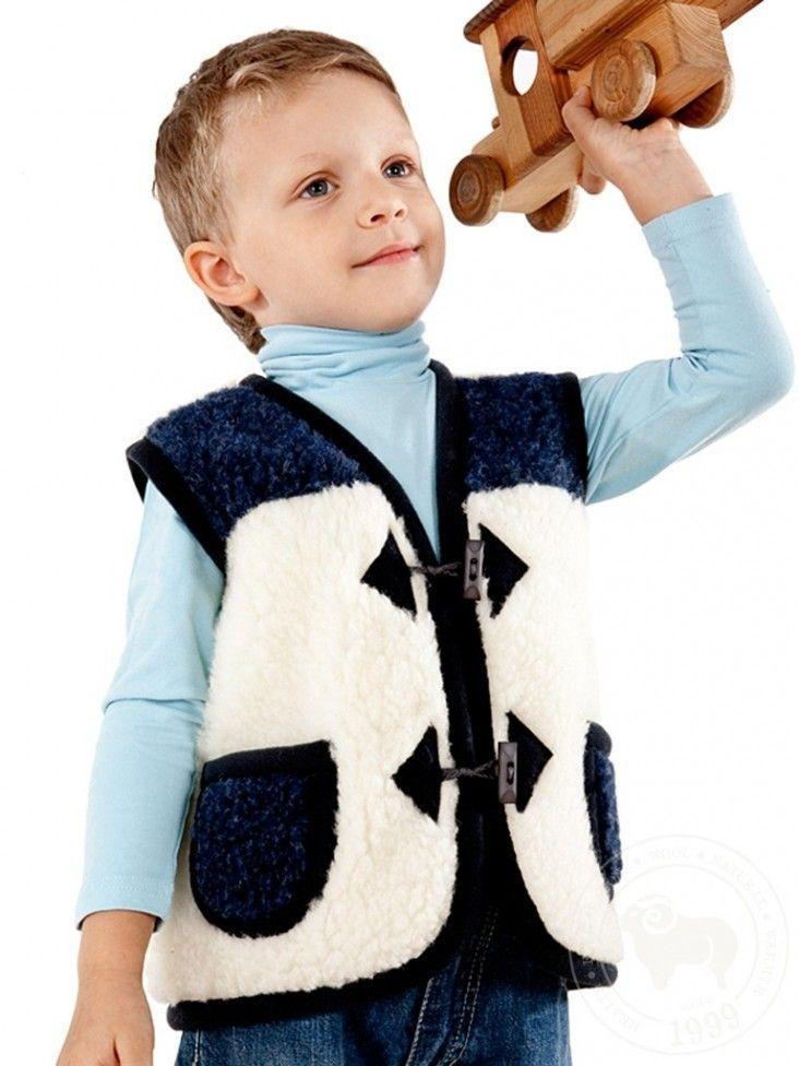 Как сшить жилет из искусственного меха детский на мальчика: модели, выкройка
