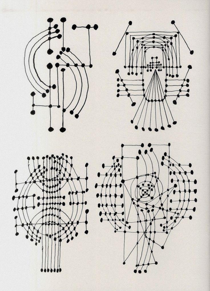 jumpinthatflash — spacedbar: Pablo Picasso Constellation drawings,...