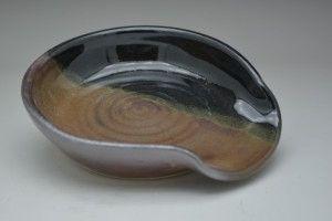 Ceramic Rusty Spoon Rest