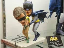 "Image result for Batman 12"" statue, classic batman, warner bros store"