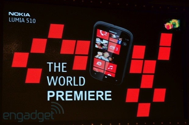Nokia launches budget Lumia 510: Windows Phone 7.5, 4-inch display and 5-megapixel camera