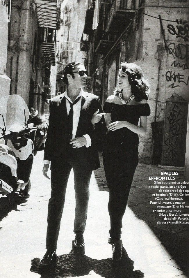 Sicilian Seduction by Thierry Le Goues for Marie Claire France September 2011.