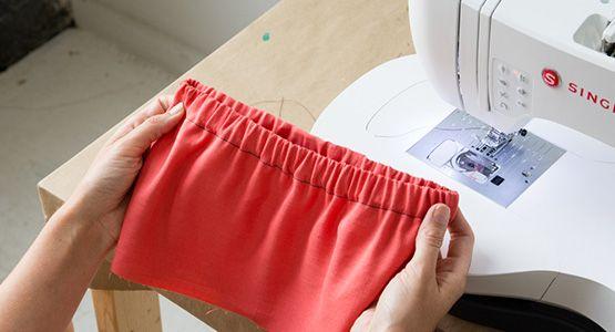 Tutorial: How to sew elastic waistbands 2 ways