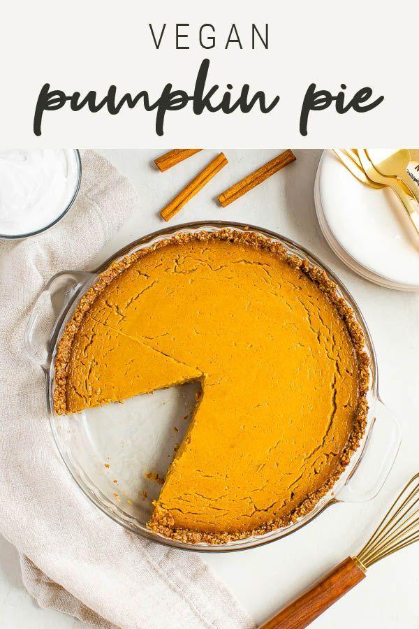 Vegan Pumpkin Pie With Tofu Gluten Free Eating Bird Food Recipe Vegan Pumpkin Pie Vegan Pumpkin Healthy Holiday Desserts