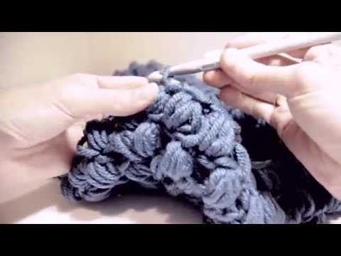 Cómo Tejer Punto Garbanzo Grande 2 Agujas (225) - YouTube