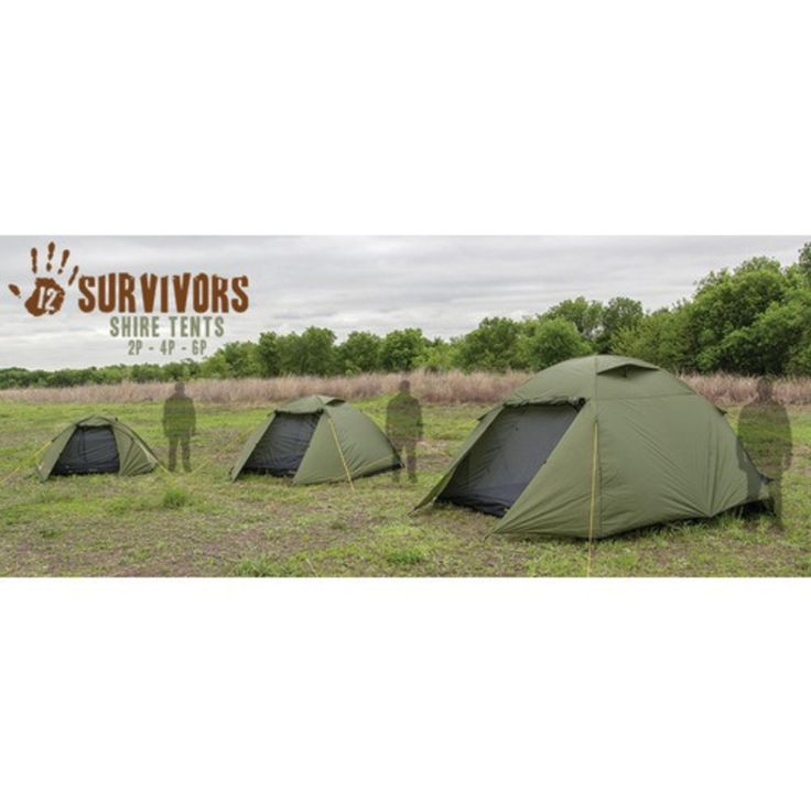 Shire 6 Person Tent with Carry Bag