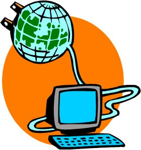 The internet allows easy fast access to large amounts of information from all around the world. In an sense it allows us to be plugged in the rest of the world. If we want to know something about somewhere far away or even to communicate with somebody in a different country we are now able to do so from the comfort of our homes in just a few clicks of a mouse.