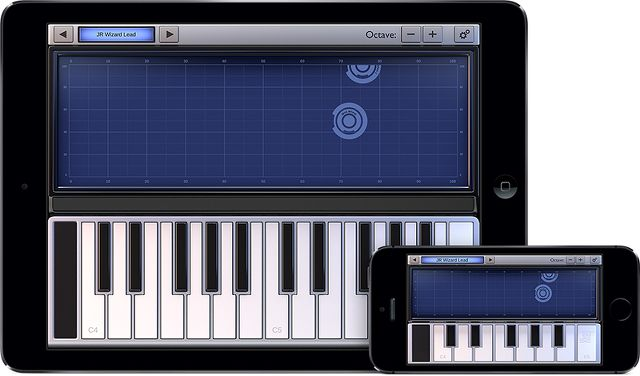 Gearjunkies.com: Xkey Synthesizer iOS app from CME partner One Red Dog