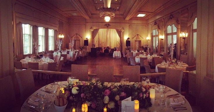 Wedding reception venue: Ballroom of Ripponlea Estate