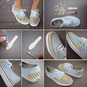 DIY: Cómo personalizar camisetas, zapatos y demás prendas