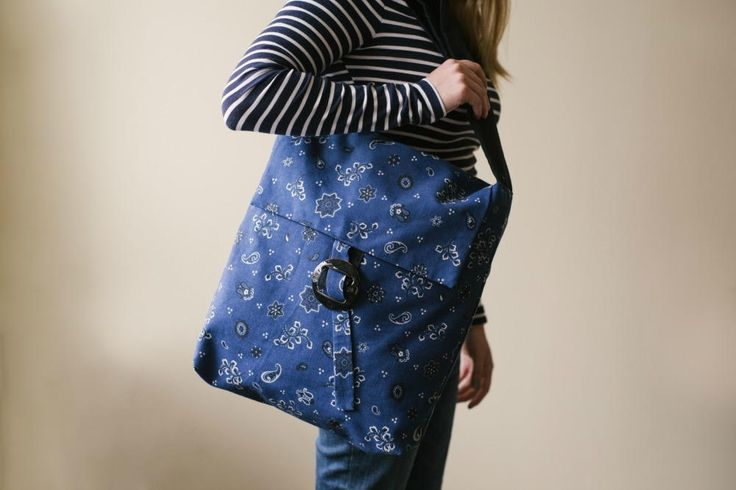 Hate spending tons of money on bags? Well try making your own for #NationalCraftMonth? Join Mary Beth Temple and learn how easy and quick you can make this messenger style bag!