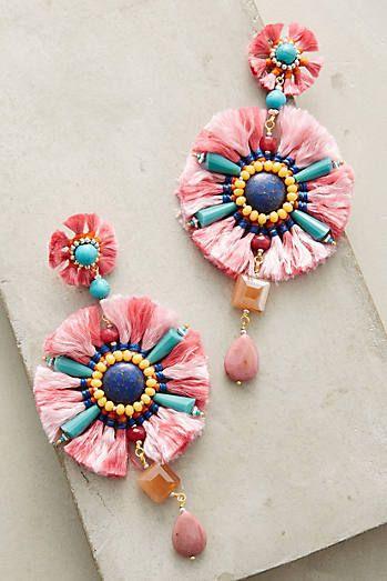 La Fiesta Drop Earrings