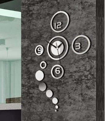 Modern DIY Clock http://amustneed.com/modern-diy-clock/