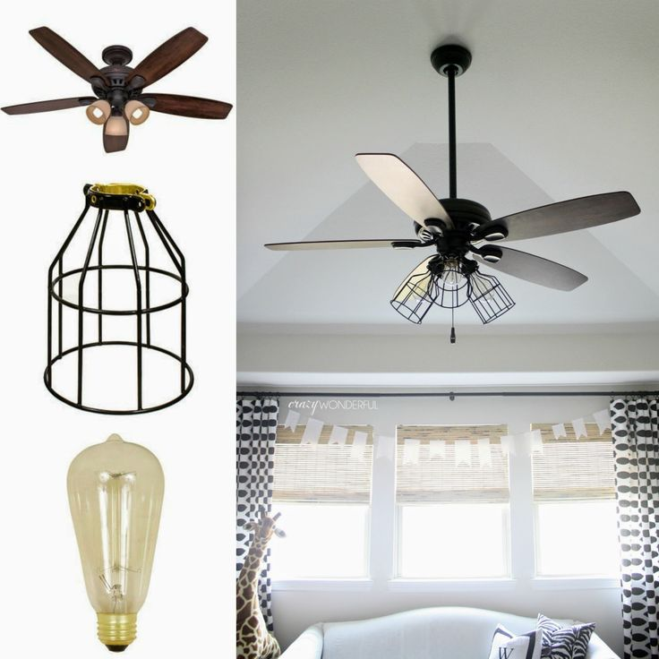 Decorative ceiling fan light covers
