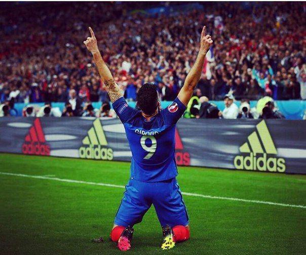 Olivier Giroud, #FRA #FRAISL #EURO2016