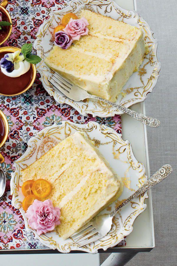 Lemon Chiffon Cake Anna Olson