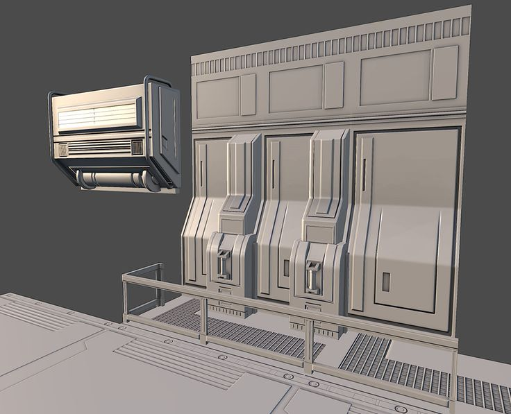Sci-Fi 3D environment W.I.P - Polycount Forum ( http://www.polycount.com/forum/showthread.php?t=121955, 2013 )
