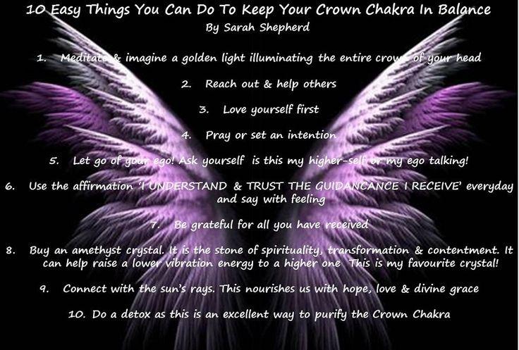 how to keep your chakras balanced