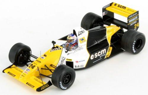 Minardi-Ford-M189-Luis-Perez-Sala-British-GP-1989-1-43
