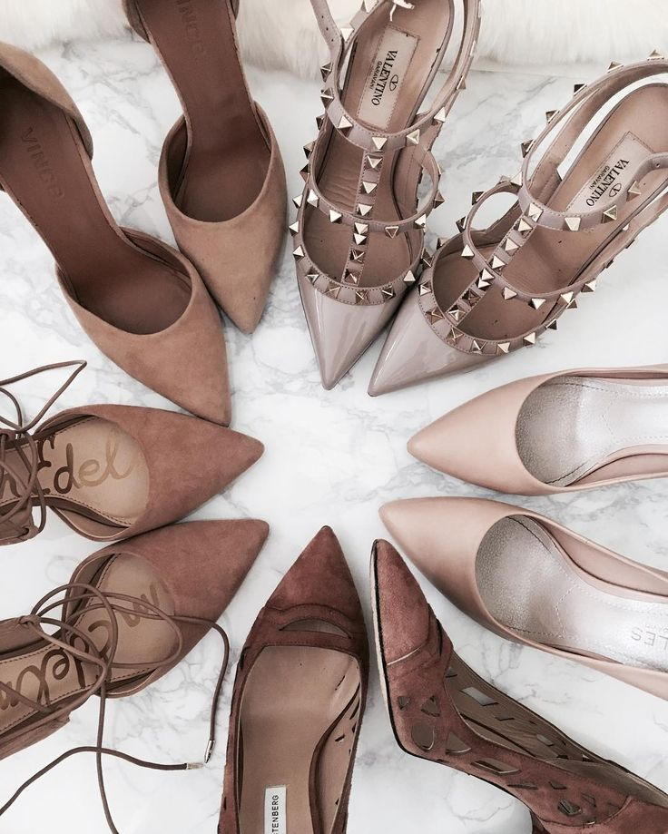 nude pump colllection @crystalinmarie